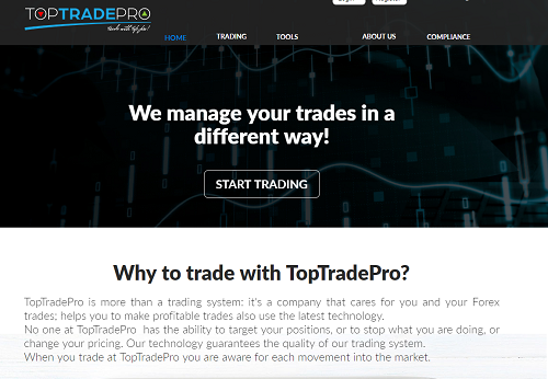 TopTradePro Review - ScamWatcher