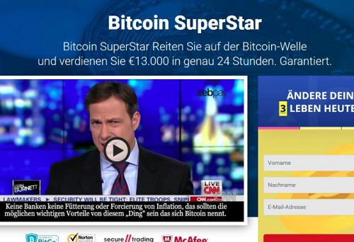 Bitcoin Superstar Test